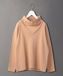 <6(ROKU)>HIGHT NECK PULLOVER/カットソー
