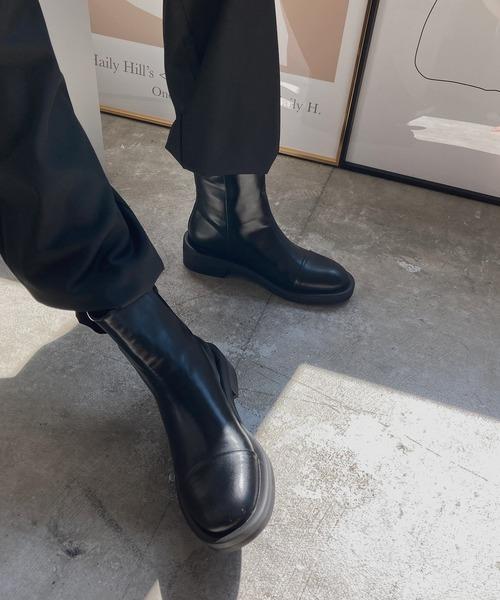 【chuclla】【2020/AW】Back zip boots chs94