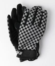 <Stline> CHECKER GLOVES/手袋◆