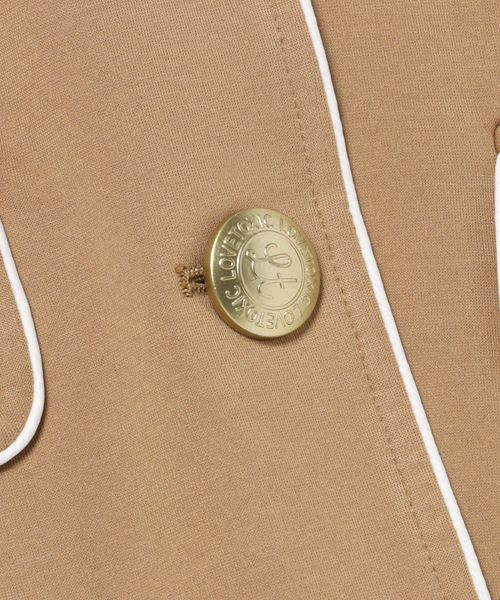 【フレッシャーズ向け】エンブレム付きパイピングジャケット