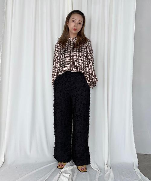 【SANSeLF】full fringe pants sanwz5