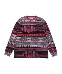 <ARIES> COLUMN JQD LS TEE/Tシャツ