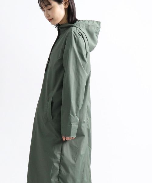 【 nifty colors / ニフティーカラーズ 】 フードレインコート hooded rain coat 6037  NIC