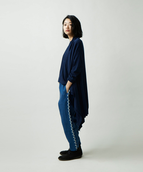 YURURI PANTS ヘンプ素材 イージーパンツ