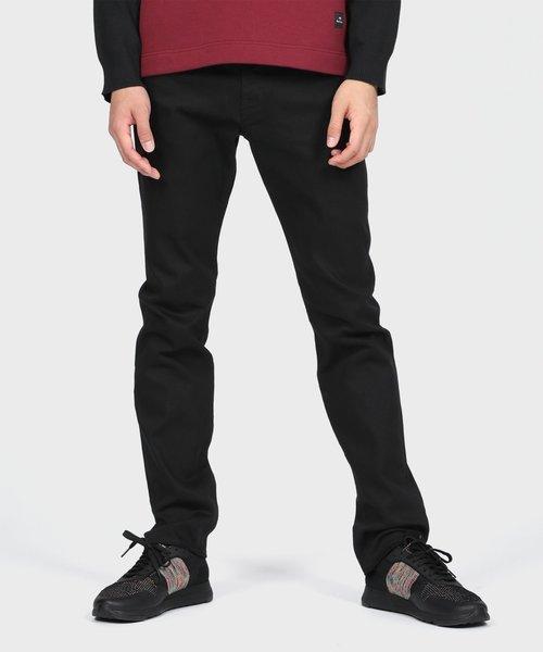 Paul Smith(ポールスミス)の「ストレッチカラー5ポケットパンツ / 292104 300Z(パンツ)」|ブラック