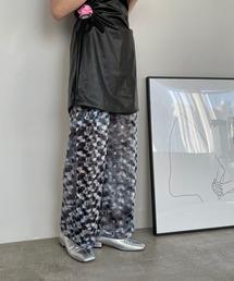 【SANSeLF】 light velor pants sanwz6グレー