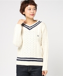 FRED PERRY | Cable Knit Sweater(ニット・セーター)