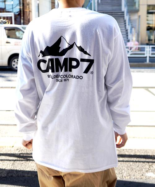 CAMP7 PRINT LONG TEE