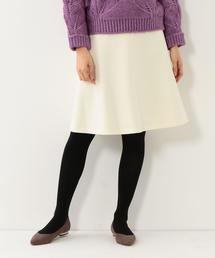 <closet story>Wキリカエ フィットフレアスカート