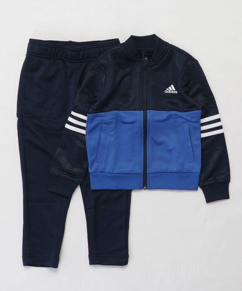 adidas(アディダス)の「トラックスーツ [Track Suit] ジャージ上下セットアップ(ジャージ)」|ブルー