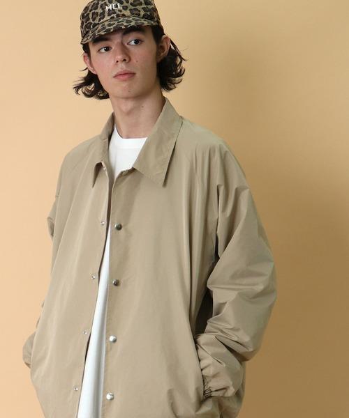 【 CAL O LINE / キャル オー ライン 】Coach jacket コーチジャケット CL202-059