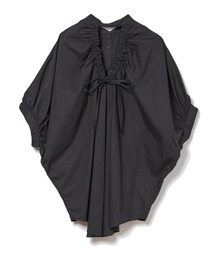 バックデザインシャツブラック