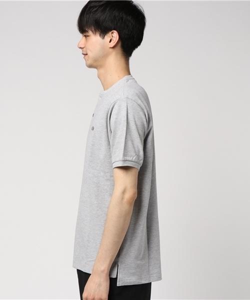 ヘンリーネックポロシャツ(半袖)