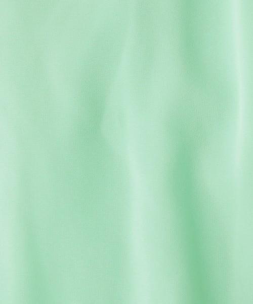 【洗える】フィット&フレアシャツワンピース