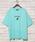 KANGOL(カンゴール)の「∴WEGO/KANGOL別注プリントTシャツ(Tシャツ/カットソー)」 グリーン