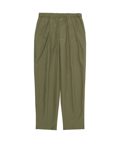 SPRING2021 WIDE TAPERD EASY SLACKS