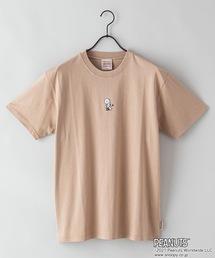 【PEANUTS/ピーナッツ】プリントTシャツベージュ