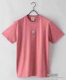 【PEANUTS/ピーナッツ】プリントTシャツピンク