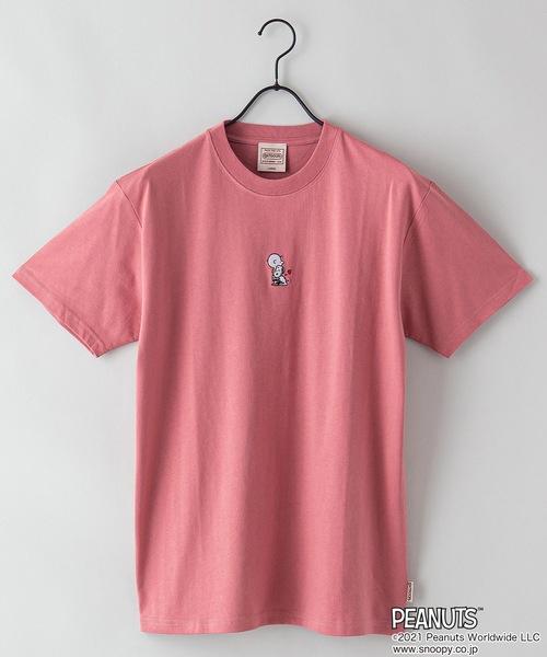 【PEANUTS/ピーナッツ】プリントTシャツ