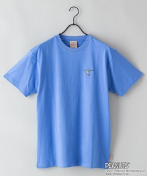 【PEANUTS/ピーナッツ】プリントTシャツブルー