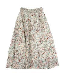 TSUMORI CHISATO(ツモリチサト)のさばくの花コットンT(スカート)