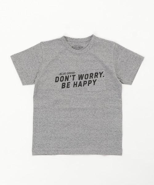 ロゴプリントポケット半袖Tシャツ