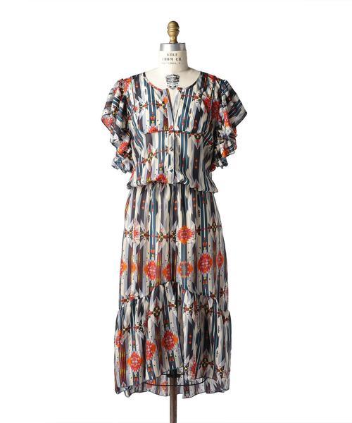 〈Jessie Western(ジェシーウエスタン)〉HABOTAI WAIST DRESS