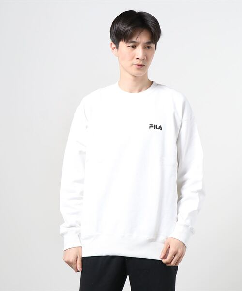【 FILA / フィラ】 FILA / フィラ × ken kagami/加賀美健 Crew neck shirts FS3004・・ クルーネック スウェット