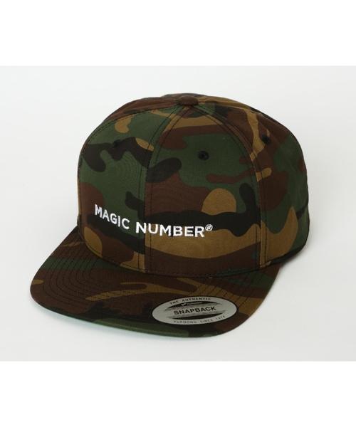 MAGIC NUMBER(マジック ナンバー)の「SNAPBACK CAP(キャップ)」|カモフラージュ