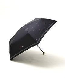 Cocoonist(コクーニスト)のハート&リップ折りたたみ傘 雨傘(折りたたみ傘)