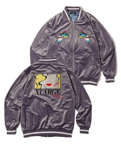 【はこぽす対応商品】 SOUVENIR JACKET(スカジャン)|XLARGE(エクストララージ)のファッション通販, ビーバーオンラインショップ:64870c08 --- wiratourjogja.com