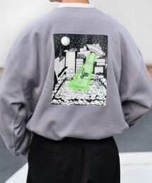 kutir(クティール)の裏起毛UFOプリントスウェット(Tシャツ/カットソー)