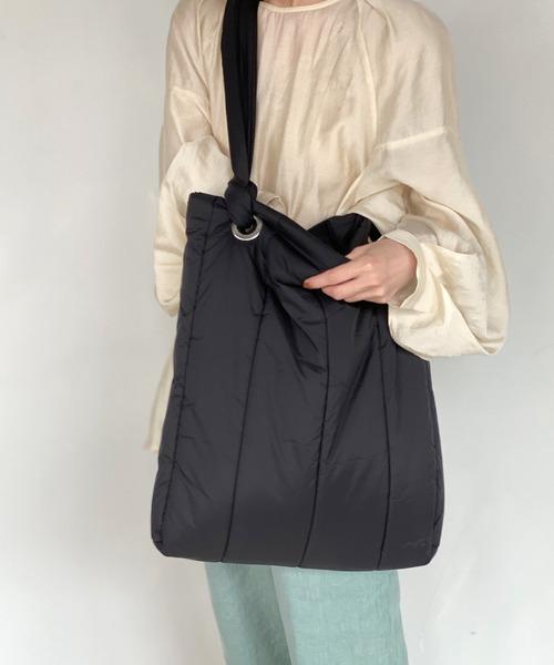 【chuclla】Puffer tote bag cha184