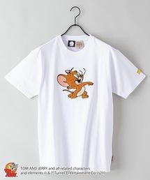 【TOM AND JERRY/トムとジェリー】 別注プリントTシャツホワイト