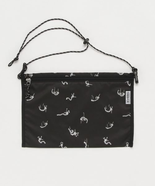 FABRICK【GASIUS】FLAT 2WAY POUCH L