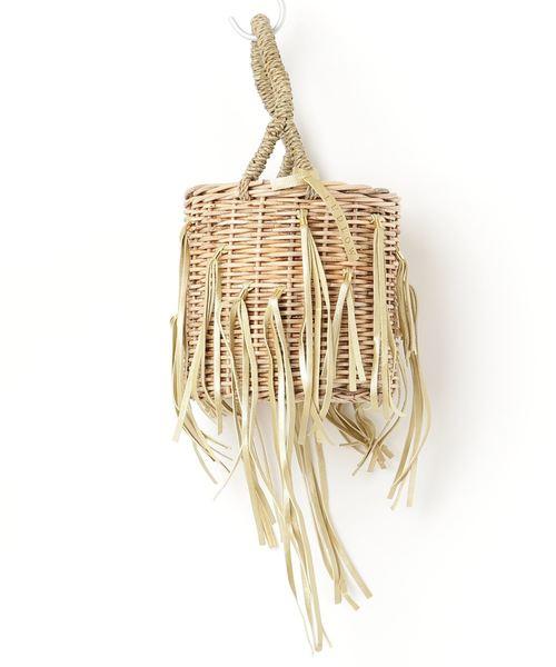 最新作の フリンジバスケット S(かごバッグ)|LUDLOW(ラドロー)のファッション通販, キシマグン:275a4105 --- steuergraefe.de