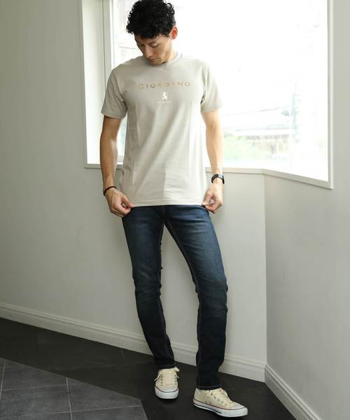 [GIORDANO]ハクロゴTEE/Tシャツ