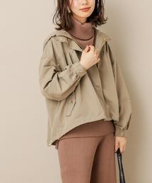 natural couture(ナチュラルクチュール)のボリューム袖マンパ(マウンテンパーカー)
