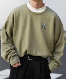 kutir(クティール)の地球刺繍ニット(Tシャツ/カットソー)