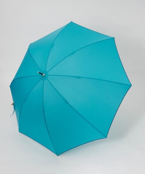 LAZY SUSAN(レイジースーザン)の「アンブレラ バンブーパイピング(長傘)」|ブルー