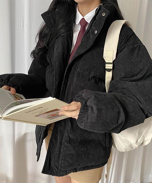 SONYUNARA×3rd Spring コーデュロイエコ中綿ジャケット