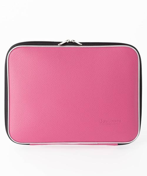 Bombata(ボンバータ)の「PVC クラッチバッグ Bellagio(PC・タブレットケース)」|ピンク