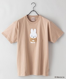 【MIFFY/ミッフィー】プリントTシャツベージュ