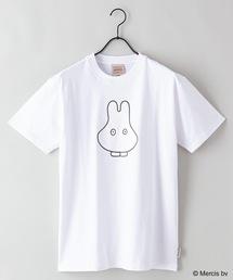 【MIFFY/ミッフィー】プリントTシャツホワイト系その他