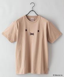 【MIFFY/ミッフィー】プリントTシャツベージュ系その他