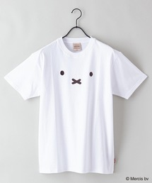 【MIFFY/ミッフィー】プリントTシャツオフホワイト