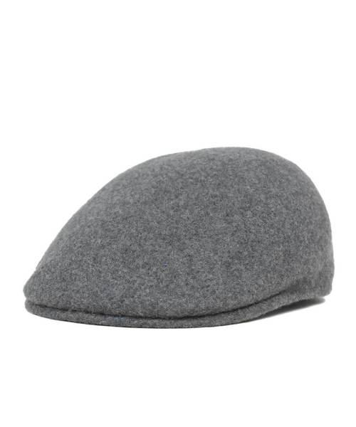 Dark Flannel Grey  KANGOL  Wool  Seamless  507  Cap