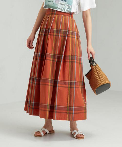 [ル・グラジック]LE GLAZIK SC チェック スカート
