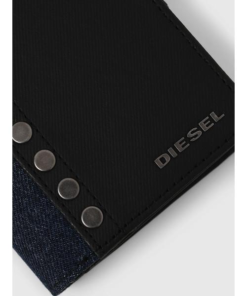 メンズ メタルリベット 二つ折り財布