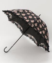 axes femme(アクシーズファム)のローズ柄ドーム晴雨兼用長傘A(長傘)